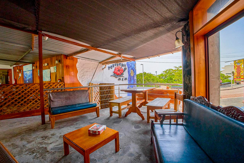 Social Area - B&B Galapagos
