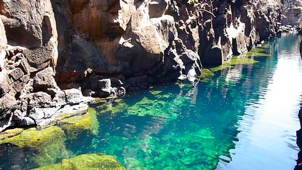 The cracks - Santa Cruz Island